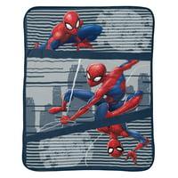 Spiderman Stripes Throw