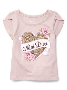75de638b862f Product Image Short Sleeve Tulip Sleeve Top (Baby Girls   Toddler Girls)