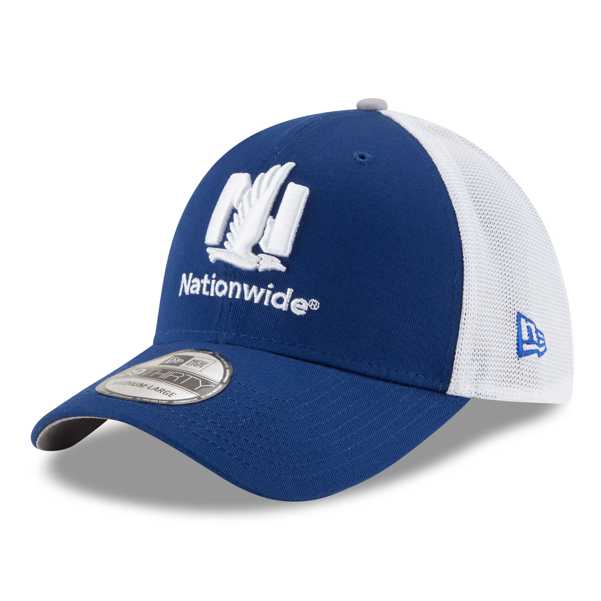 Dale Earnhardt Jr. New Era Logo Wrapped 39THIRTY Flex Hat - Royal
