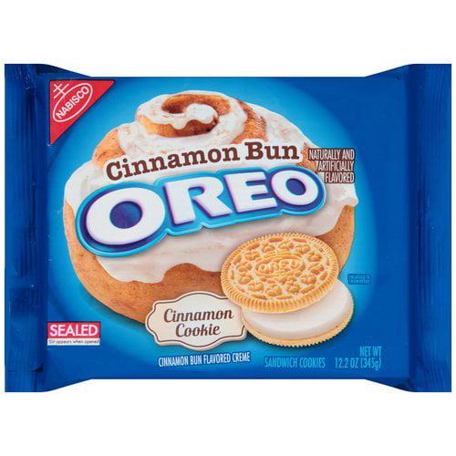 Nabisco Cinnamon Bun Oreo Cinnamon Sandwich Cookies 122oz