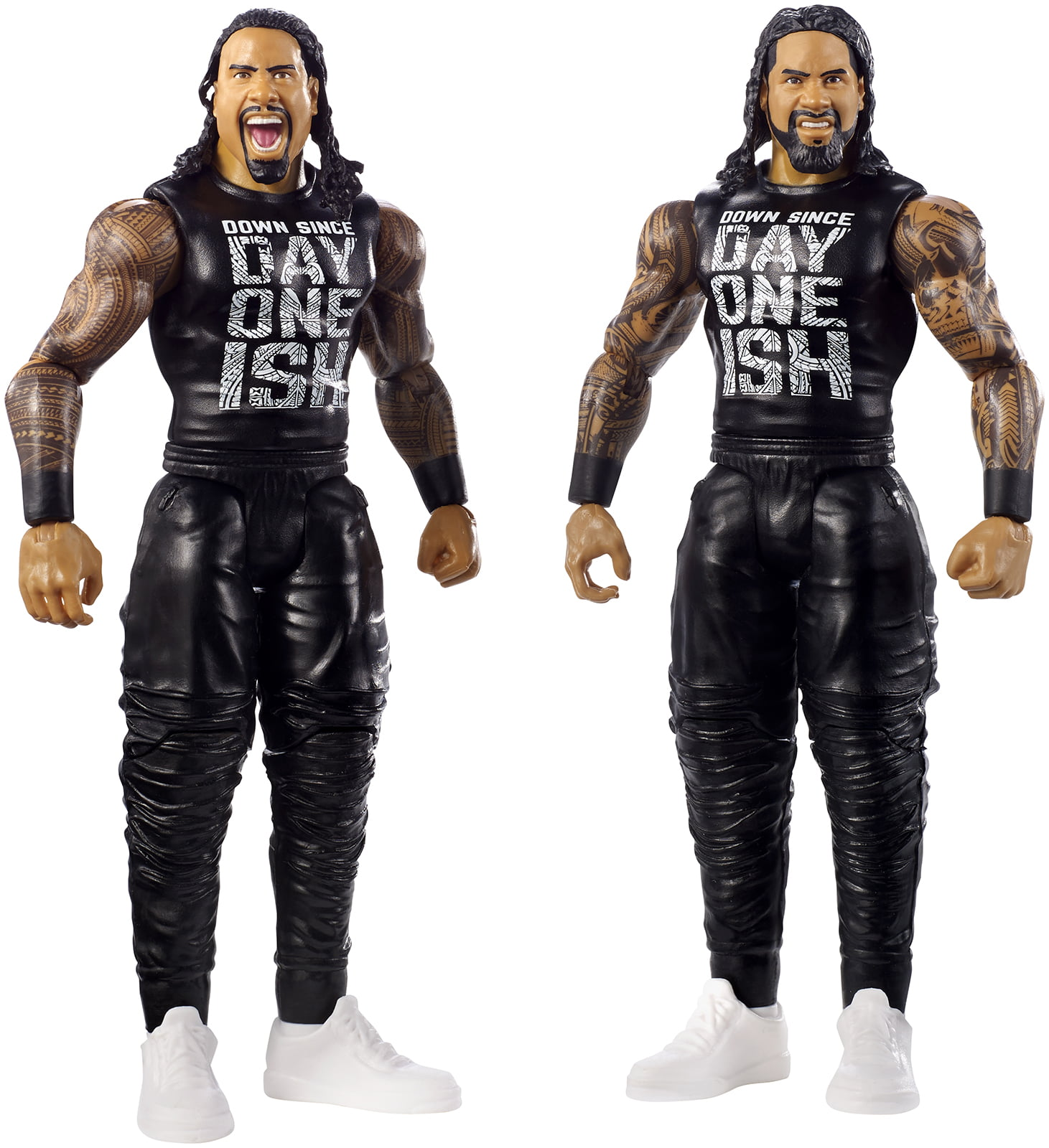 The Usos (Jimmy Uso & Jey Uso) WWE Battle Packs 52 Toy Wrestling Action Figures by Mattel