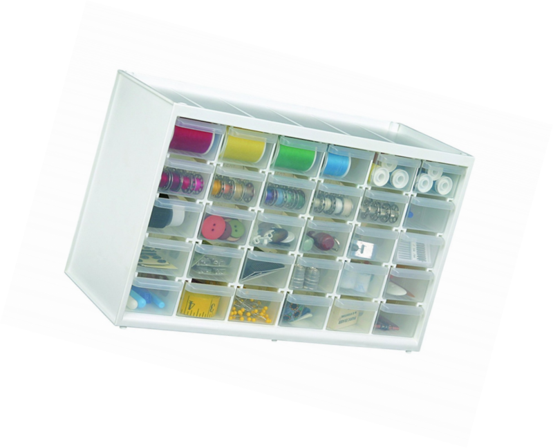 ArtBin Store In Drawer Cabinet, 30 Art And Craft Supply Storage Drawers,