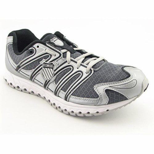 K-Swiss 02736086 : Men's Micro Tubes 100 Fit Running Shoe Grey Silver 8 M US by k-SWISS