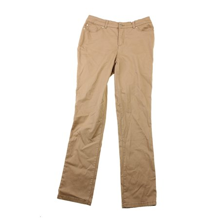 Charter Club  Warm Toffee Tummy Slimming Pants 4