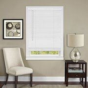 """Anochecer Collection Cordless Vinyl 1-Inch Room Darkening Mini Blind- Pearl White - 23"""" x 64"""" (Actual Measurement 22.5"""