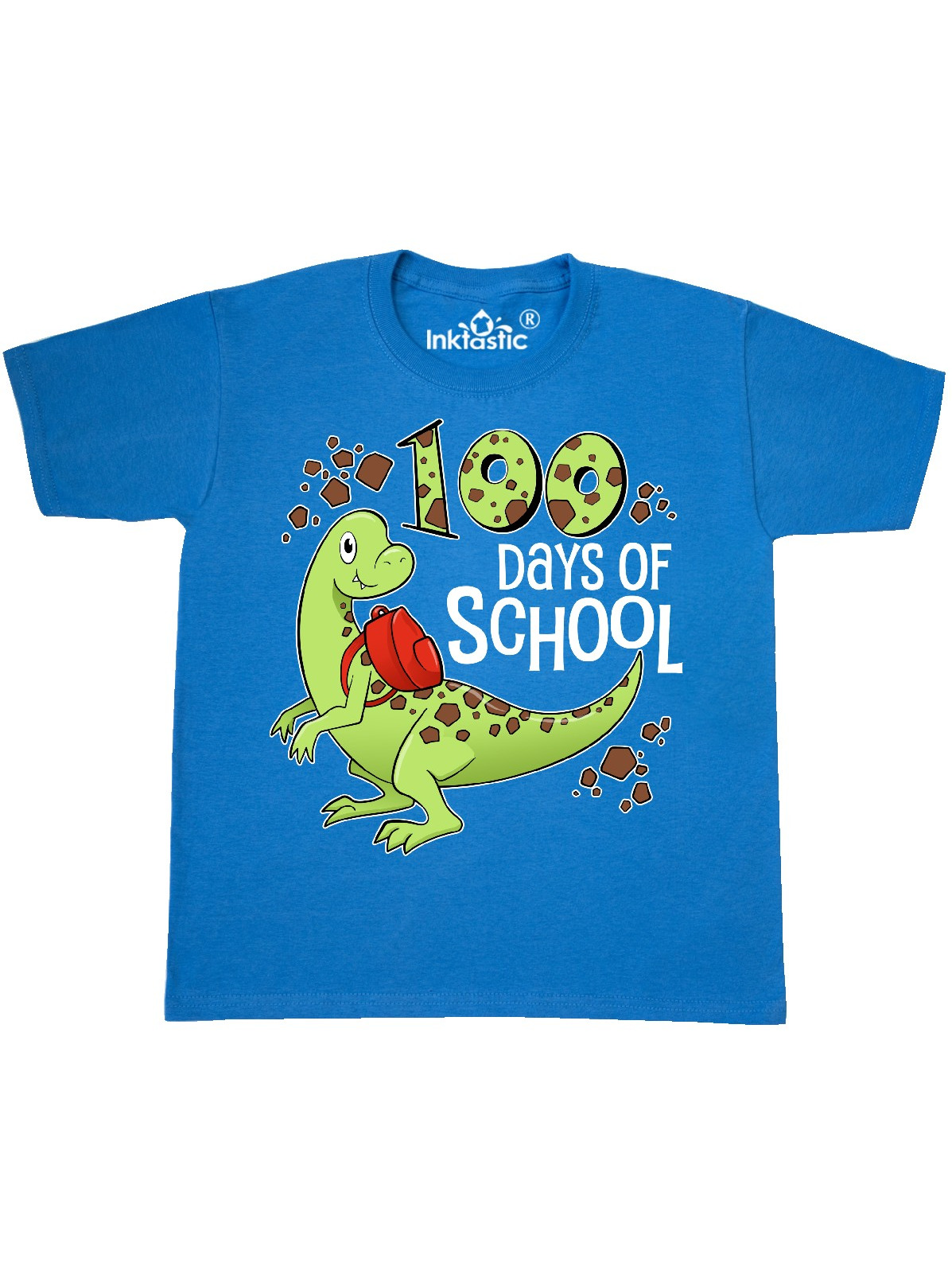 inktastic Rockin 100 Days with Sunglasses and Pencil Toddler T-Shirt