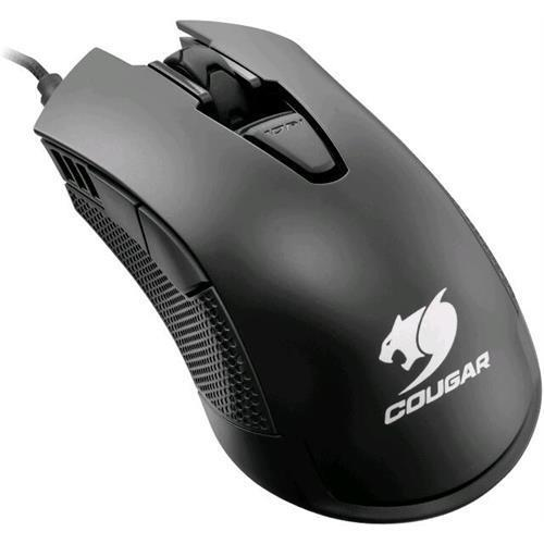 Cougar 500M MOC500B / MOC500-B Black 6 Buttons 1 x Wheel USB Wired Optical 4000 dpi Gaming Mouse 16.8M LED Lighting Effect UIX Support