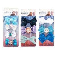 ($21 Value) Disney Frozen 2 Hair Bow Clips Gift Set, Anna & Elsa