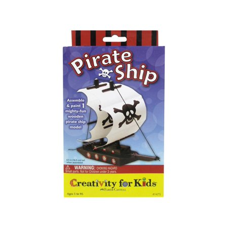 FaberCastell Creativity/Kids Pirate Ship