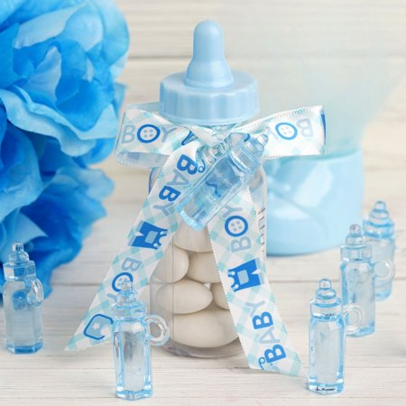 BalsaCircle 144 pcs Plastic Bottles Baby Shower Favors Birthday Party Centerpieces Crafts Gifts Accessories Wholesale Decorations for $<!---->