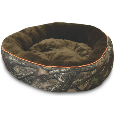 True Timber Deluxe Round Dog Pet Bed