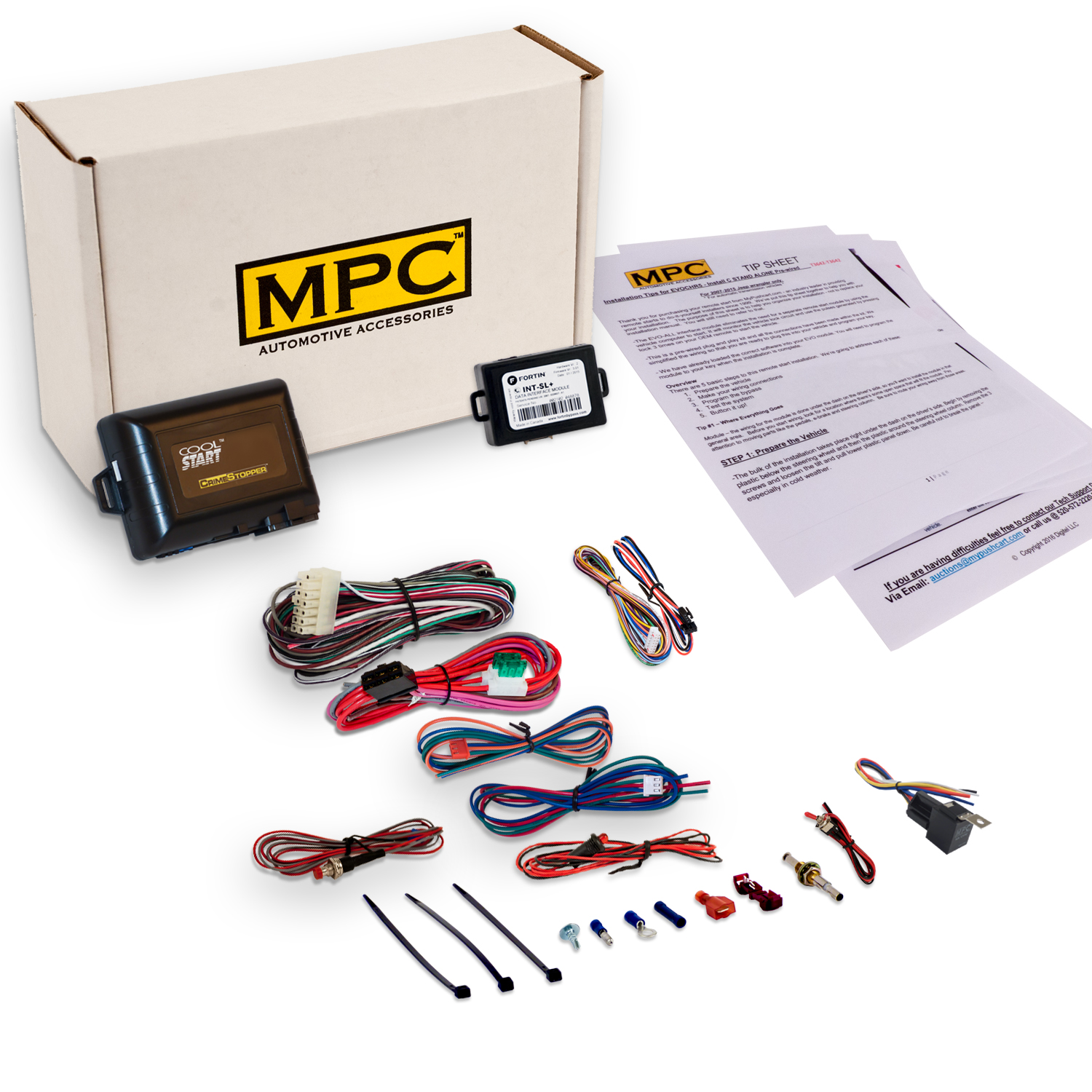 MPC Complete Remote Starter Fits Jeep Grand Cherokee [199...