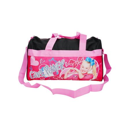 "Girls JoJo Siwa Duffel Bag 18"" - Girl Power Purple Pink"