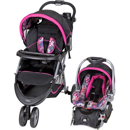 Baby Trend EZ Ride 5 Travel System, Floral Garden Only Now $108.70 (Was $159)