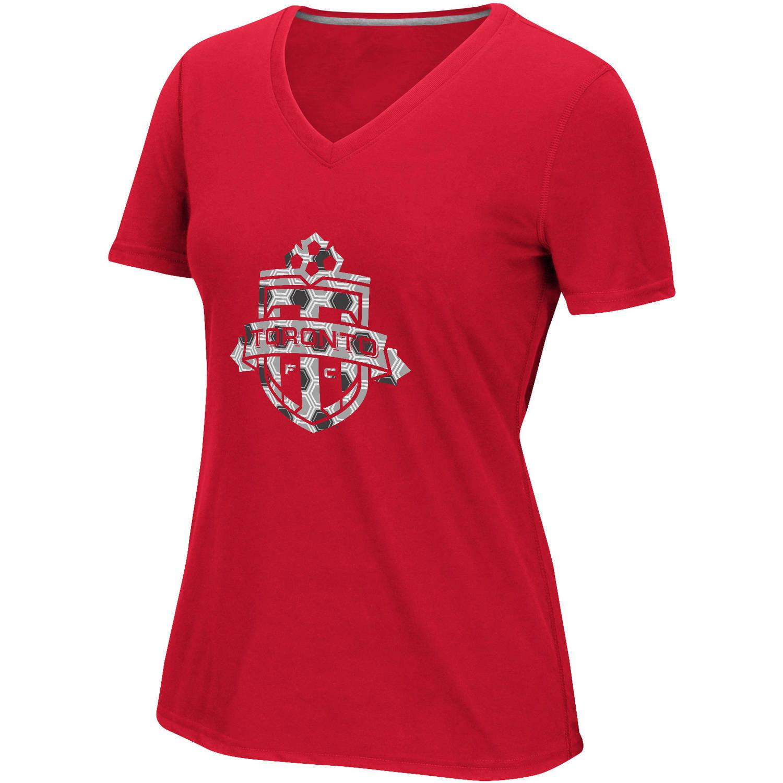 MLS-Toronto FC-Women's Raised Net Tee