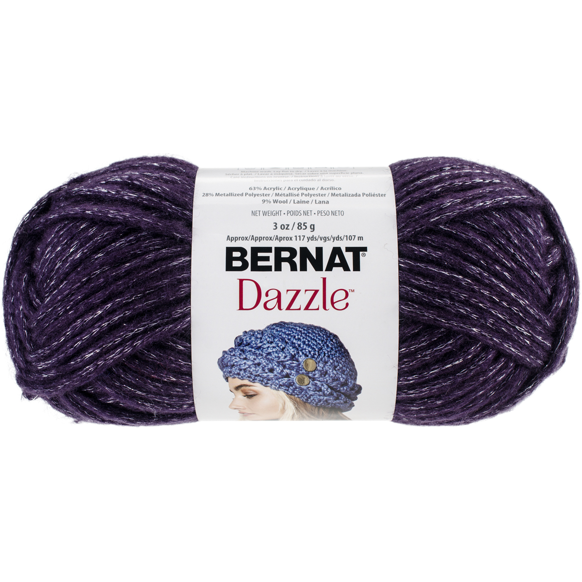 Dazzle Yarn, Purple Passion