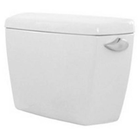 - Toto ST743ERB#01 Toilet Tank Only with Right Hand Trip Lever and Bolt Down Lid from the Eco Drake Series, Cotton