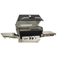 Broilmaster Super Premium Propane Grill Head with Stainless Steel Burner & Extra Tall Lid