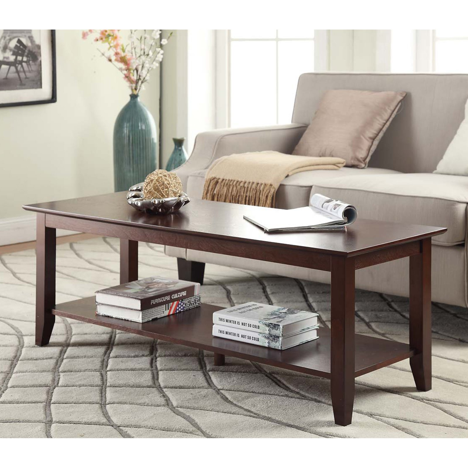 Convenience Concepts American Heritage Coffee Table, Multiple Finishes by Convenience Concepts