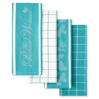 The Pioneer Woman 4-Pack Butterfly Kitchen Towel Set