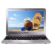 """Samsung Chromebook 11.6"""" Laptop PC with Samsung Exynos Dual Core Processor (1.7 GHz), 2GB Memory, 16GB Hard Drive and Chrome OS, XE303C12-A01US, Silver (Pre-Owned)"""