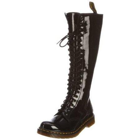 11154a0a9c1 Dr. Martens - Dr Martens Womens 1B60 20-Eye Boot Black Patent Size 5 UK 7  US - Walmart.com