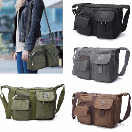 Men's and Women's Casual Large Handbag Shoulder Bag Cross body Messenger Bag Nylon Bag (Adc Nylon Medical Bag)