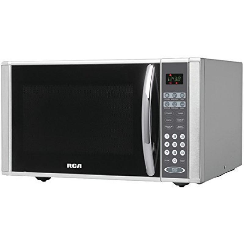 Microwave Stainless Steel 10 Power Levels with Speed and ...