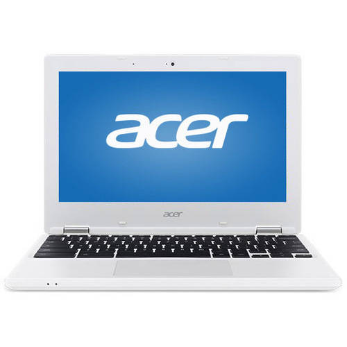"Refurbished Acer 11 CB3-131-C3SZ 11.6"" Chromebook, Chrome, Intel Celeron N2840 Dual-Core Processor, 2GB RAM, 16GB Flash Storage"
