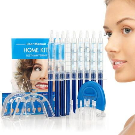 EHM Teeth Tooth Whitening Whitener Dental Bleaching LED White Light Oral Gel Kit