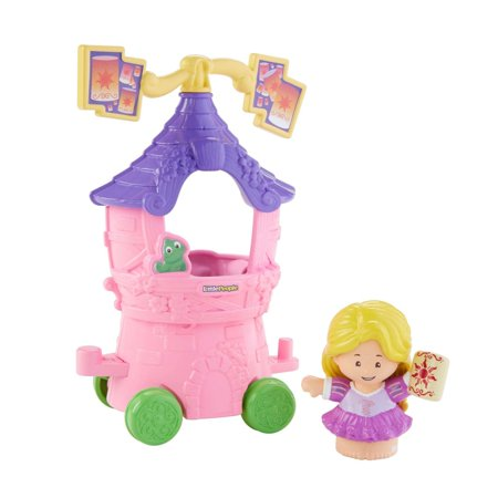 Disney Princess Parade Rapunzel & Pascal's Float by Little People for $<!---->