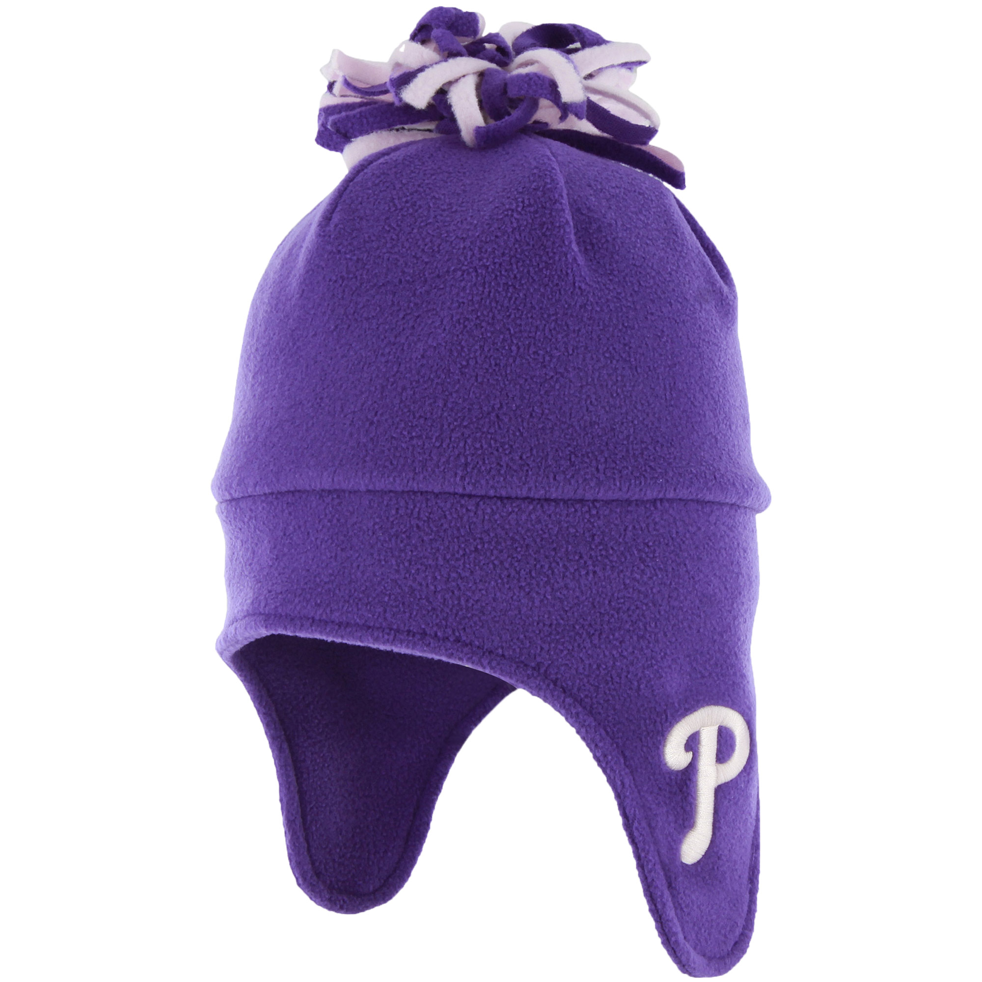 Philadelphia Phillies '47 Youth Girls Co-Captain Cuffed Knit Hat - Purple - OSFA