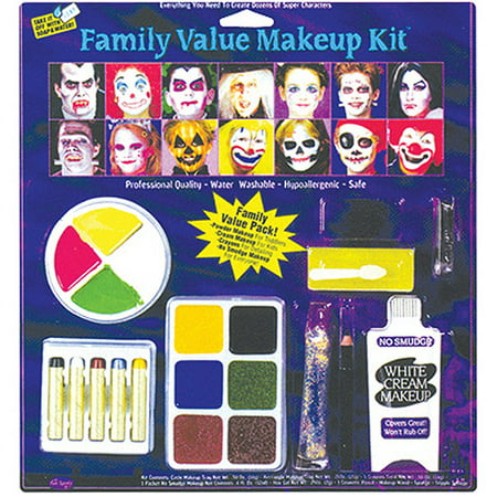 Horror Family Kit Halloween - Halloween Evil Bunny Makeup