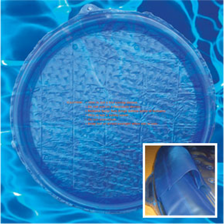 Blue Solar Sun Rings Swimming Pool Heater Cover Blanket SSRA-101 Anchors (Various Quantities) ()