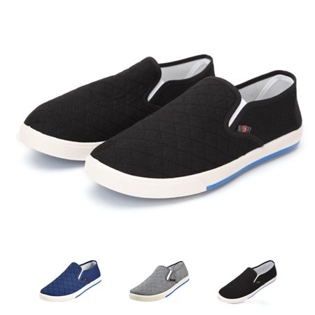 Meigar Men's Classic Canvas Boat Shoe Casual Slip-On Shoes ()