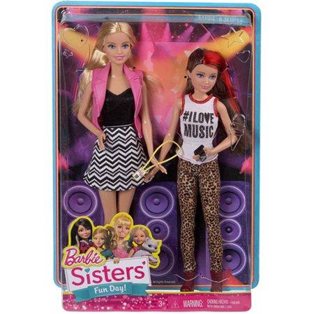 Barbie Sisters 2-Pack Barbie and Skipper Dolls