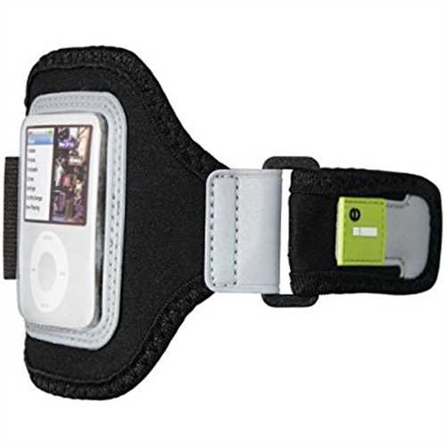 Refurbished Cellular Innovations Neoprene Sport Armband Case for iPhone and iPod Touch (Black)