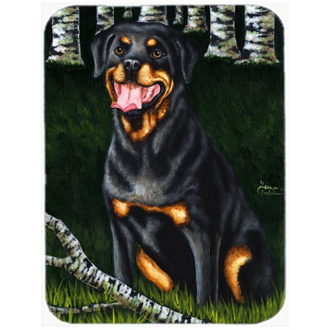 Carolines Treasures AMB1388MP Backwoods Companion Rottweiler Mouse Pad, Hot Pad or Trivet - image 1 de 1