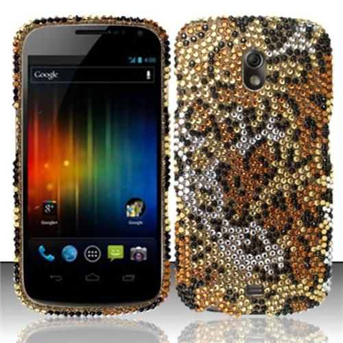Insten Cheetah Full Diamond Design Case Cover For Samsung Galaxy Nexus CDMA i515/i9250