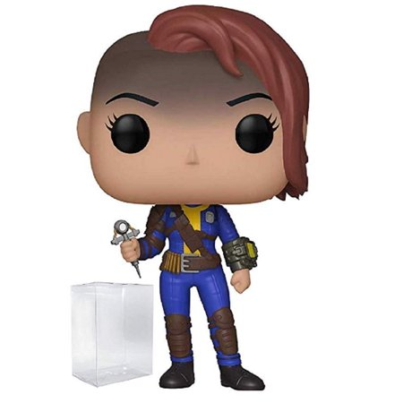 Funko POP - Fallout - Vault Dweller Female - with Pop Protector (Vault Dweller Cosplay)