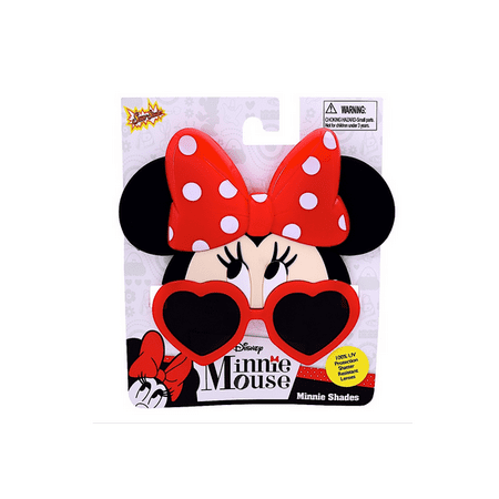 Party Costumes - Sun-Staches - Disney - Kids Minnie Mouse Heart Frame Lens sg2568 (Disney Halloween Party Song)