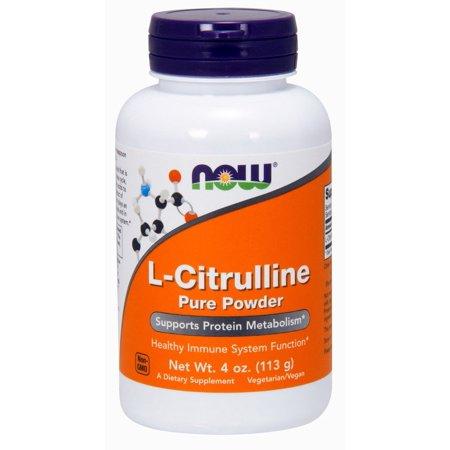 L-Citrulline Pure Now Foods 4 oz (L-citrulline 100% Pure Powder)
