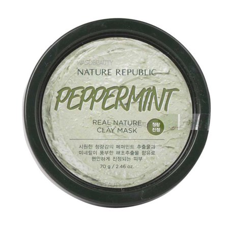 Nature Republic Peppermint Real Nature Clay Mask 2.46
