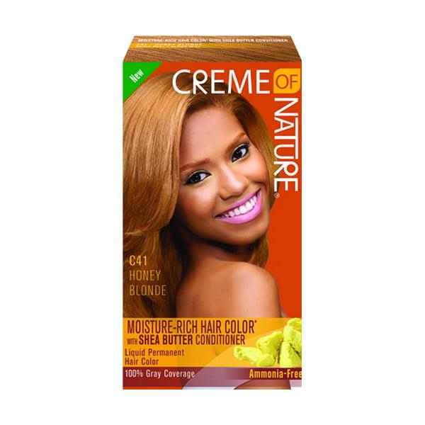 Creme Of Nature Liquid Hair Color Kit Honey Blonde