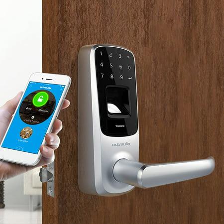 Ultraloq Ul3 Bt Bluetooth Enabled Fingerprint And Touchscreen