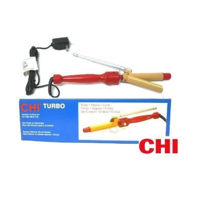 "CHI Turbo Ceramin Curling Iron 1"" GF1526"