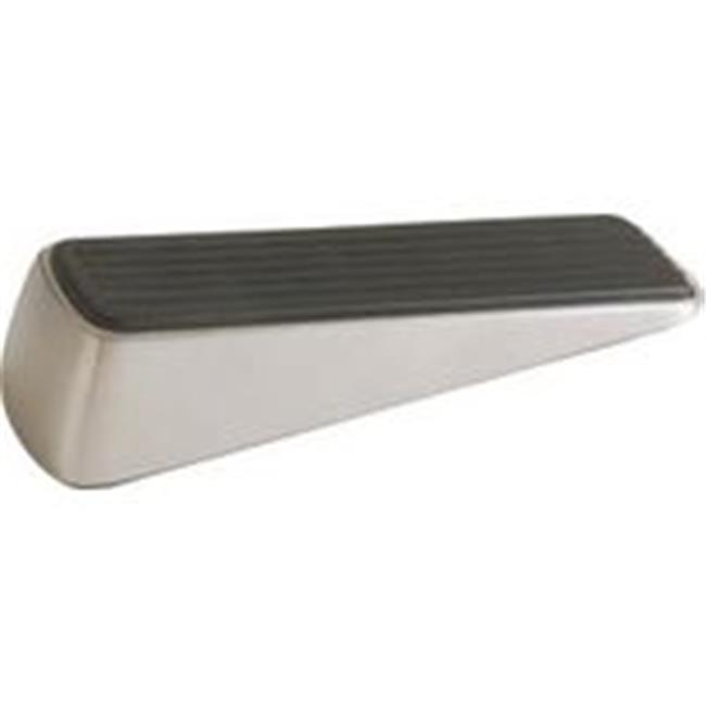 Doorstop Wedge Rubber Stn Nckl 3314 - image 1 of 1