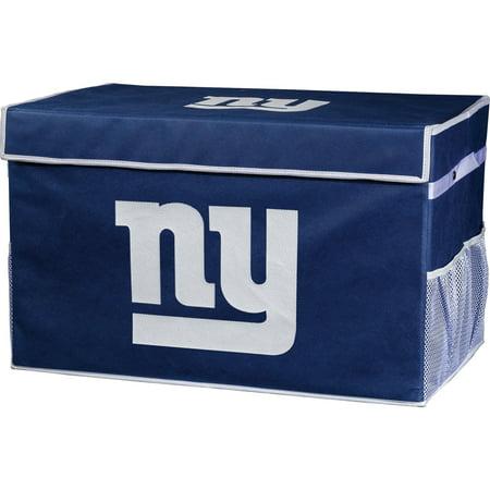 Franklin Sports NFL New York Giants Collapsible Storage Footlocker Bins - Small (New York Giants Jewelry Box)