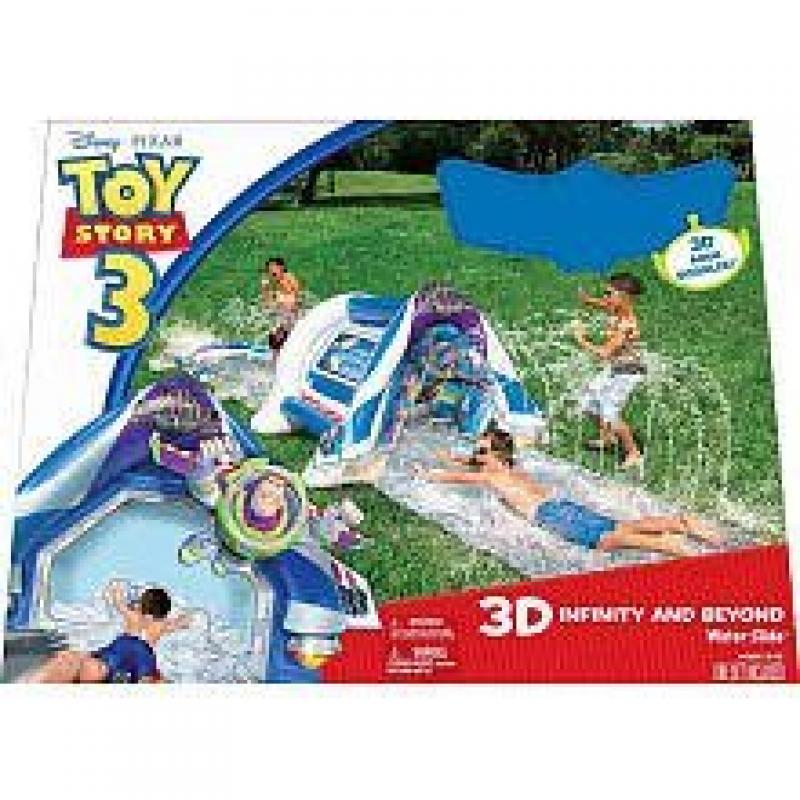 Toy Story to Infinity and Beyond 3d Waterslide with Goggles by