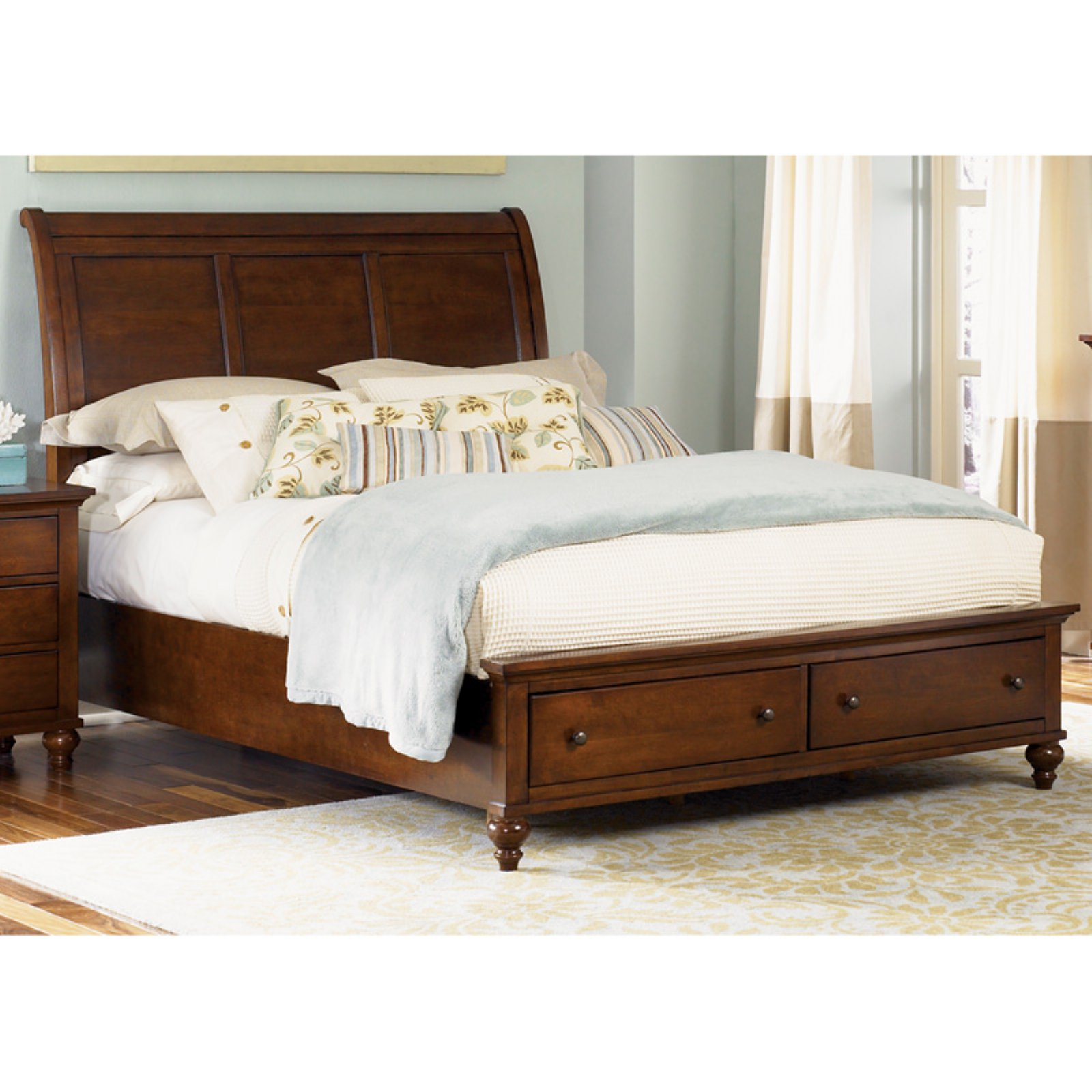 Liberty Furniture Hamilton Storage Sleigh Bed